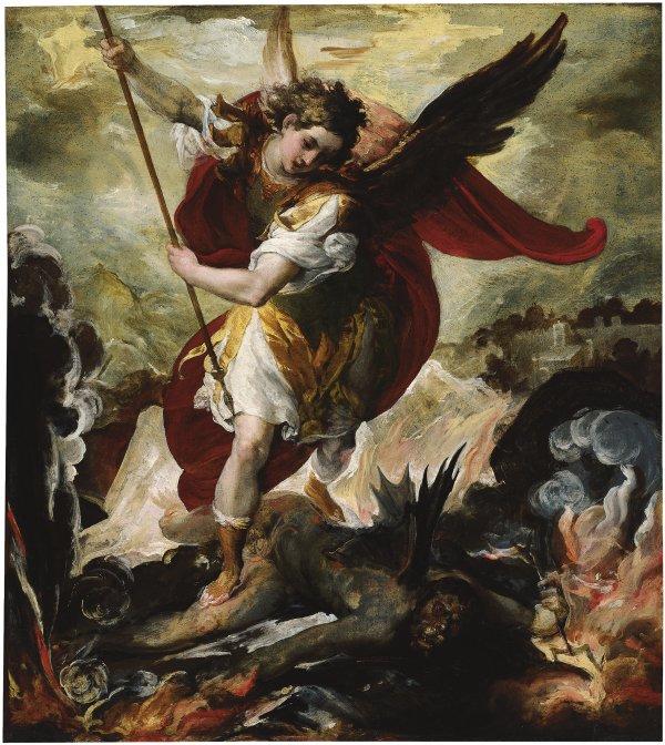 Oración San Miguel Arcángel amor